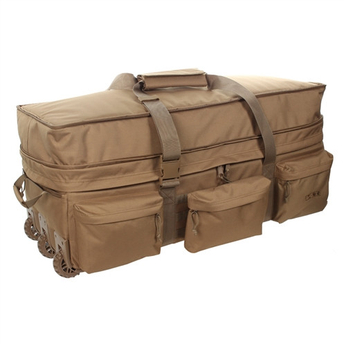 Coyote Brown Extra Large Rolling Load Out