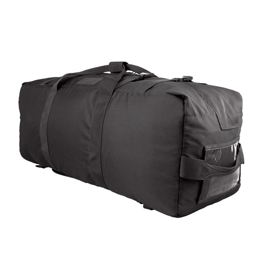 Black Explorer Duffle Bag