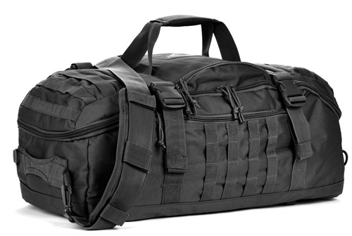 Black Traveler Duffle Bag
