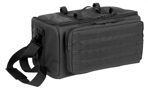 Black Range Bag with Mat By Voodoo Tactical