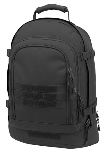 Black Improved Three Day Stretch Backpack