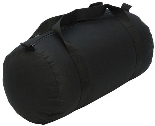 Black Medium Roll Duffle