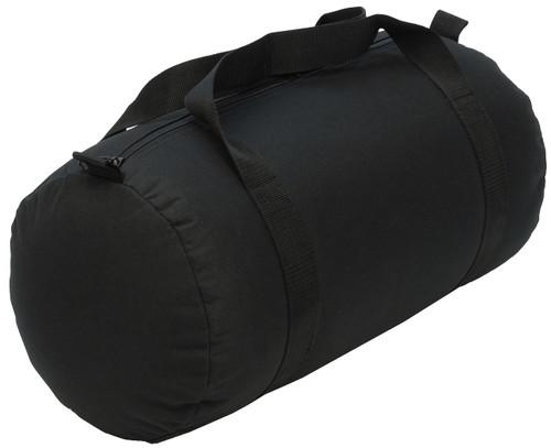 Black Medium Roll Duffle