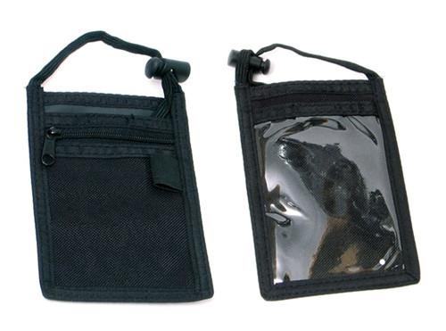 Black Neck ID Wallet