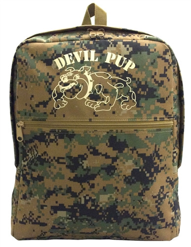 Digital Woodland DEVIL PUP Backpack (Large)