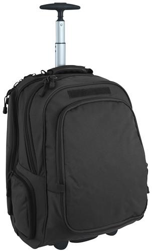Black Wheeled Laptop Backpack