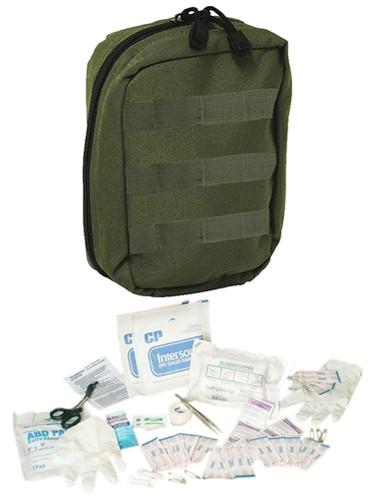 OD Fully Stocked Tactical Trauma Kit