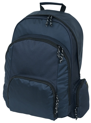 Navy Blue Large Backpack