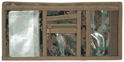 Digital Woodland Tri-Fold Wallet