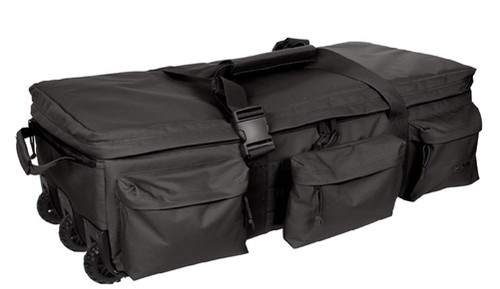 Black Rolling Loadout Bag