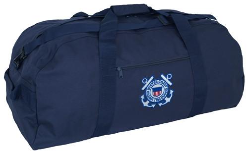 Giant Duffle Bag With Coast Guard Logo