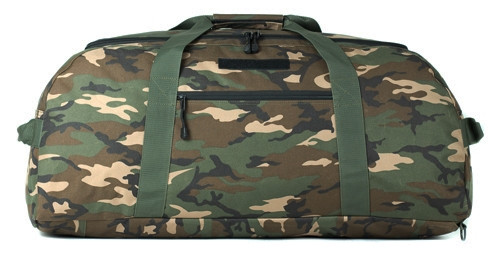 Woodland Camo Convertible Duffle/Backpack