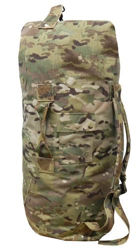 Multicam OCP Top Loading Military Duffle Bag