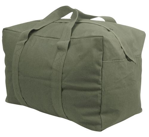 Olive Drab Canvas Parachute Cargo Bag