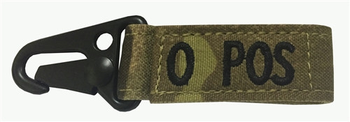 Set Of 2 Multicam OCP Blood Type Tags For O Positive
