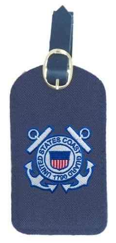 Luggage Tag With Coast Guard Logo