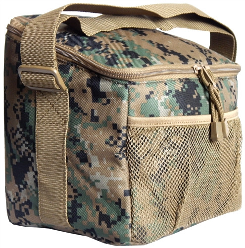 Digital Woodland Insulated Chow Pack