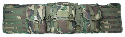 """Woodland Camo 46"""" Padded Weapons Case"""
