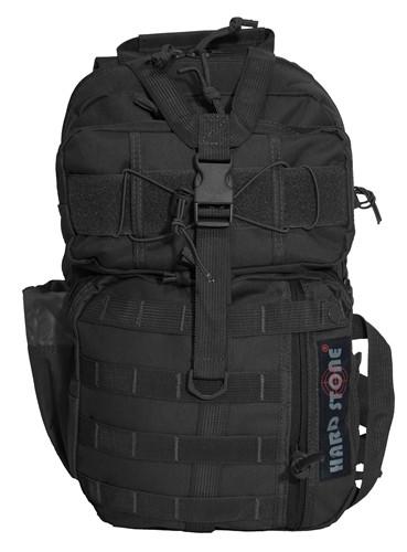 Black Hard Stone Conceal Carry Sling Bag