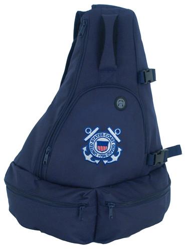 Sling Bag With Coast Guard Logo