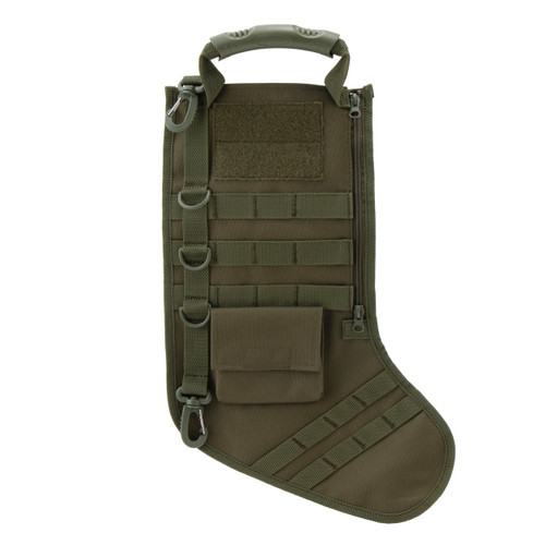 OD Green Tactical Christmas Stocking