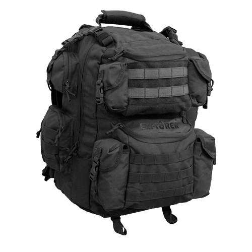 "Black 20"" Tactical Backpack"