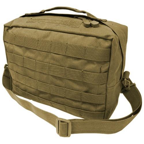 Coyote Tan Utility Shoulder Bag By Condor