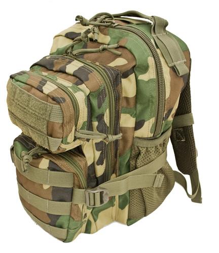 Woodland Camo Kids Tactical Combat Backpack