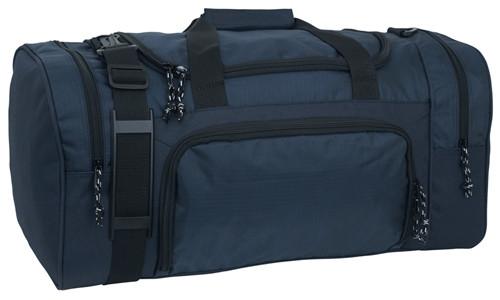 Navy Blue Sport Locker Bag