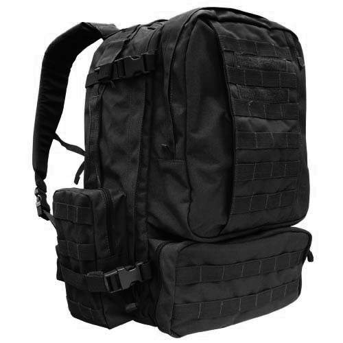 Black 3 Day Assault Pack By Condor