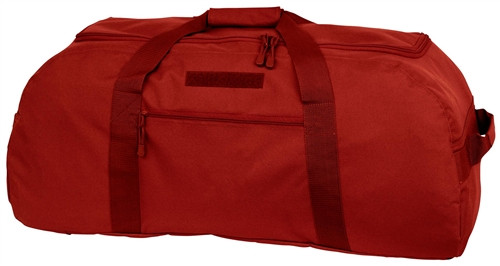 Red Convertible Duffle/Backpack