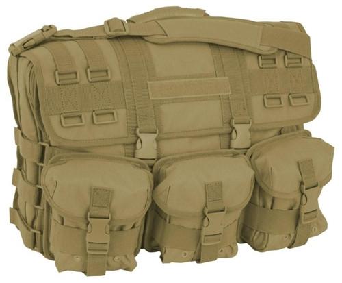 Coyote Brown Computer Messenger Bag