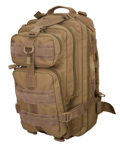 Coyote Brown Small PRESIDIO Assault Pack By Flying Circle