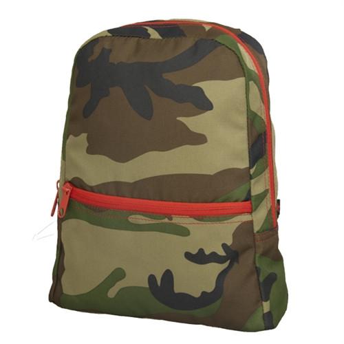 Woodland Camo Kids Small Backpack