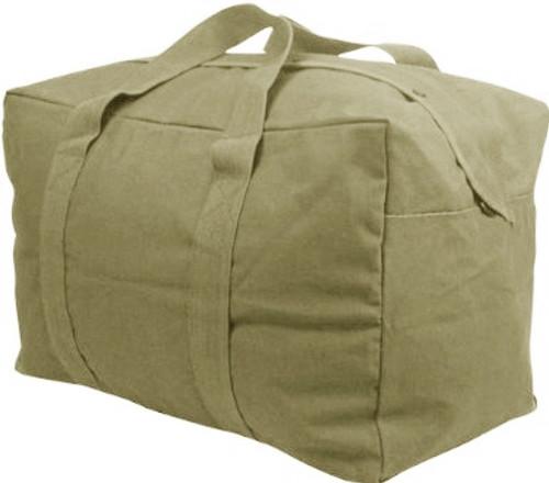 Coyote Canvas Parachute Cargo Bag