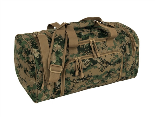 Digital Woodland Sport Locker Bag