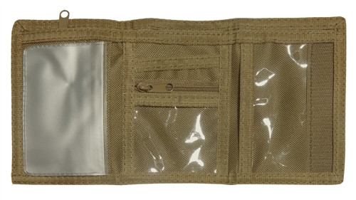Coyote Tri-Fold Wallet