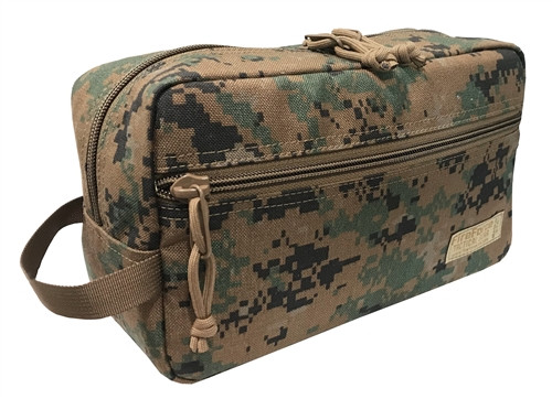 Digital Woodland Padded Toiletry Bag