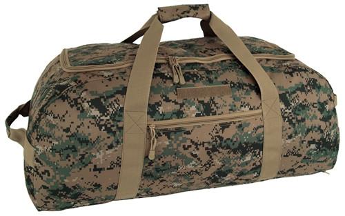 Digital Woodland Convertible Duffle/Backpack
