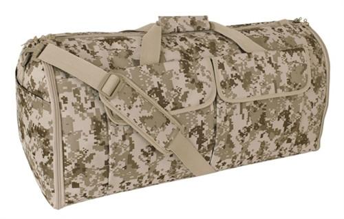 Digital Desert Hybrid Garment & Duffle Bag