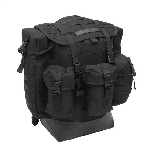 Black Large Field Pack