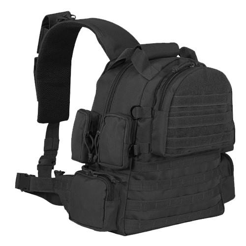 Black Tactical Sling Bag