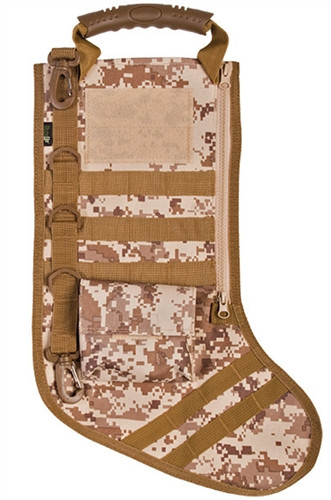 Digital Desert Tactical Christmas Stocking