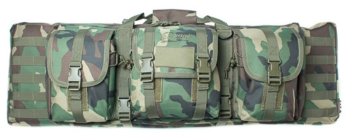 """Woodland Camo 36"""" Padded Weapons Case"""