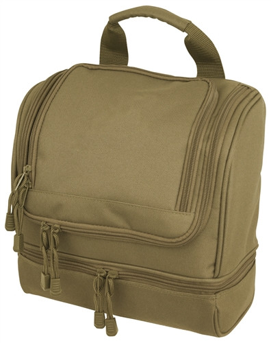 Coyote Brown Toiletry Kit