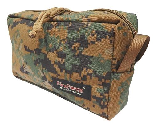 Digital Woodland Mesh Accessory Bag