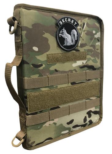Multicam OCP Secret Squirrel Tactical Military Padfolio