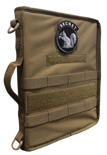 Coyote Secret Squirrel Tactical Military Padfolio
