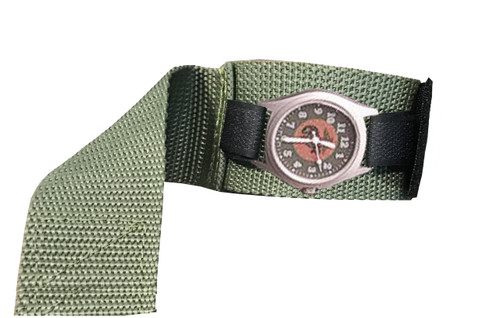 Olive Drab Covered Watchband