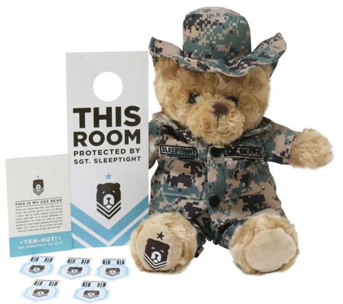 Digital Woodland Sgt. Sleeptight Bear